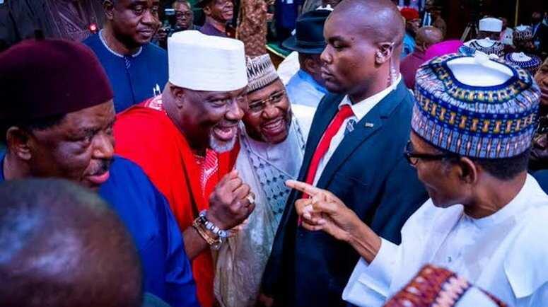 Ibrahim Magu: Dino Melaye reacts to EFCC boss' suspension by President Buhari
