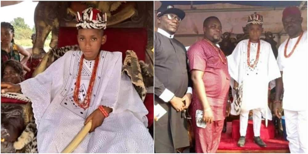 3 Youngest monarchs in Nigeria, their Age, Education Level and Adorable Photos, One of them is 11