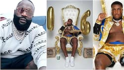 You're now officially a boss: Rick Ross tells son as he gifts him a fast-food outlet on his 16th birthday