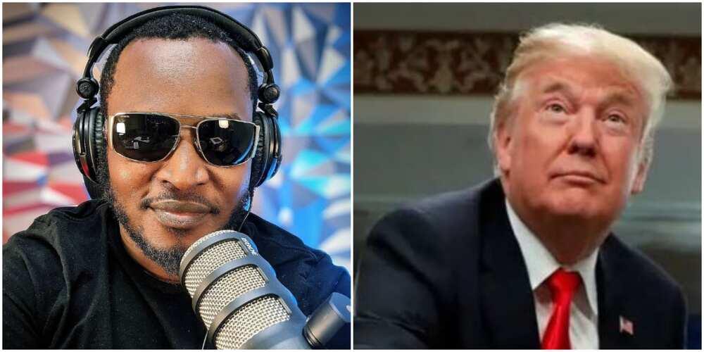 Veteran rapper Eldee reacts to Trump's ban across social media platforms, says it is 'tyranny'