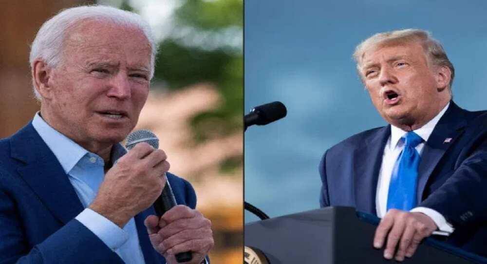 Donald Trump ya ki yarda ya yi muhawara da 'Dan takarar Republican, Joe Biden