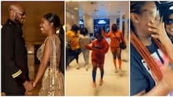 Annie Idibia's children spotted with grandmother in adorable videos amid marriage crisis with 2baba