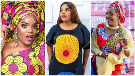 See 10 photos of actress Empress Njamah as she steps out in African prints