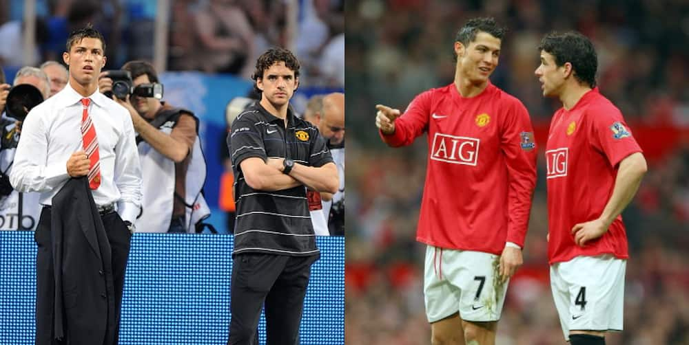 Former Man United star who won Champions League with Ronaldo makes huge statement about come back