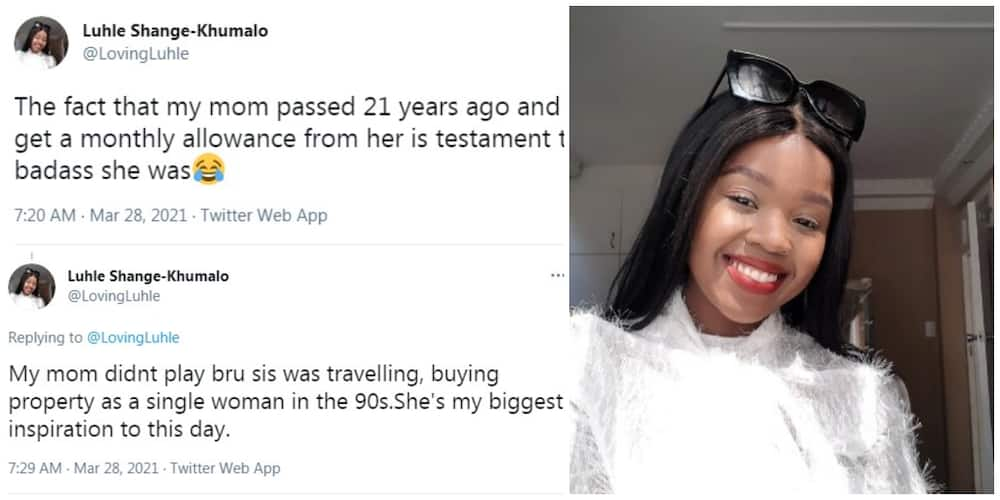 My Mum Died 21 Years Ago, but I Still Get Monthly Allowance from Her, Lady shares Shocking Family Secret