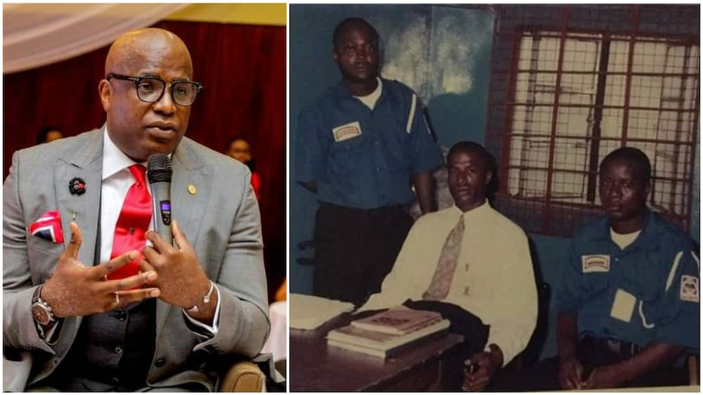 Ubong said he worked hard on himself to succeed in life. Photos sources: Instagram/Ubong King, Daily Trust