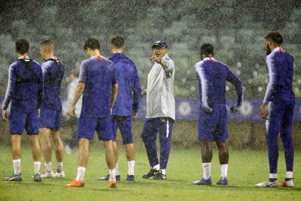Chelsea stars hold emergency meeting during training after humiliating defeat