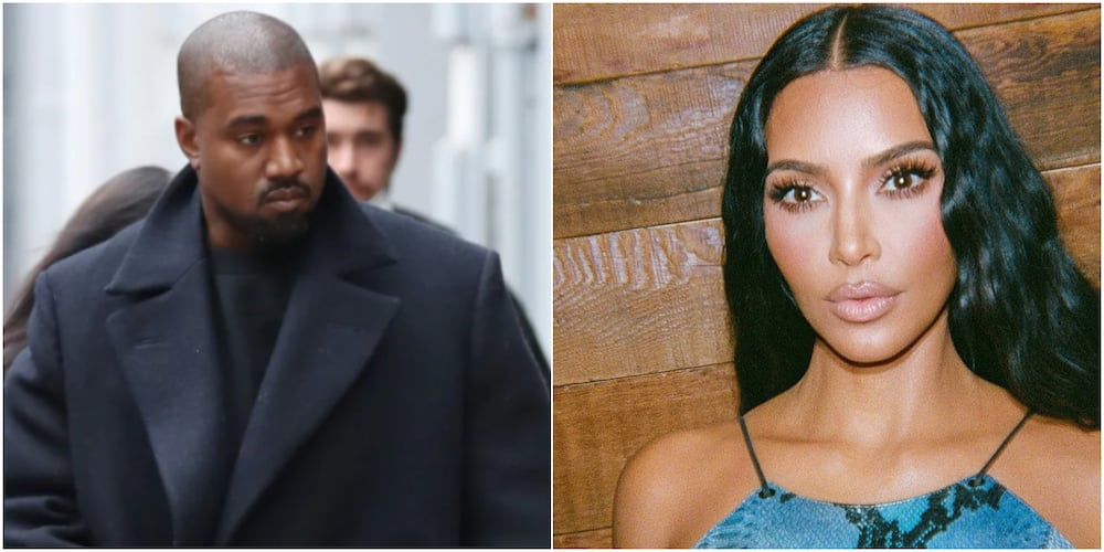 Kanye West aand Kim Kardashian