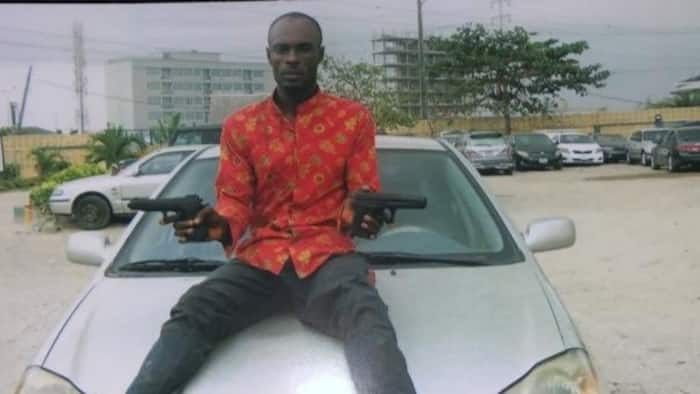 Man attempting to steal car apprehended by police in Lagos after hot chase