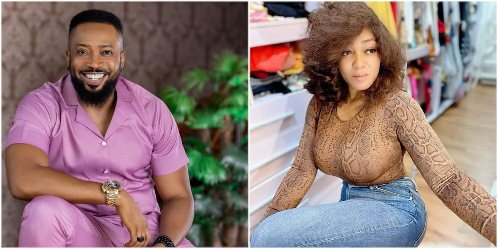 Actress Peggy Ovire Reacts as Blogger Raises Speculations about Dating Colleague Frederick Leonard