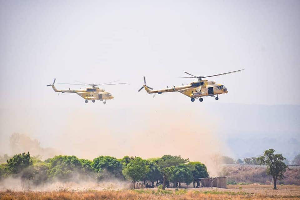 NAF faults reports of bombing wedding venue in Niger state
