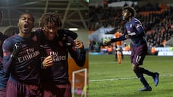 Alex Iwobi scores as Arsenal destroy Blackpool in FA Cup third round cracker