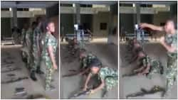 Real king of boys: Female soldier beats male colleagues, arranges her gun first in video