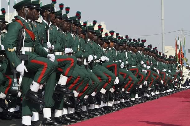 Nigerian army forces