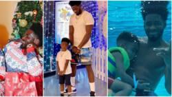 6 adorable 'daddy and me' photos of Tiwa Savage's ex Teebillz and their son Jam Jam