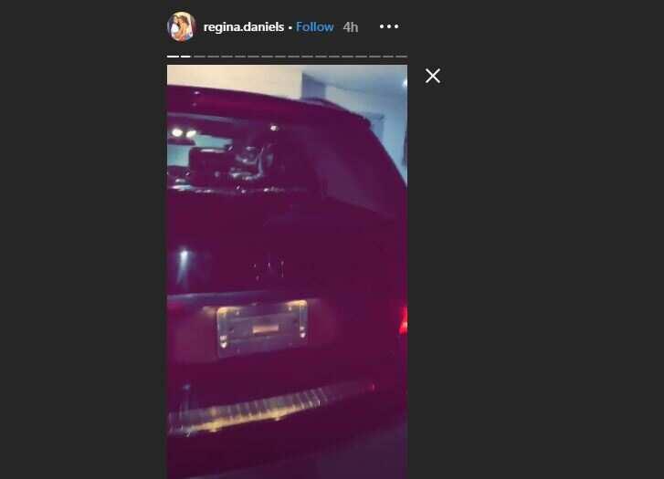 Teenage actress Regina Daniels acquires multi-million naira Benz