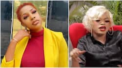 The Johnsons' actress Seun Osigbesan curses crossdresser Bobrisky for saying being a woman paved way for him