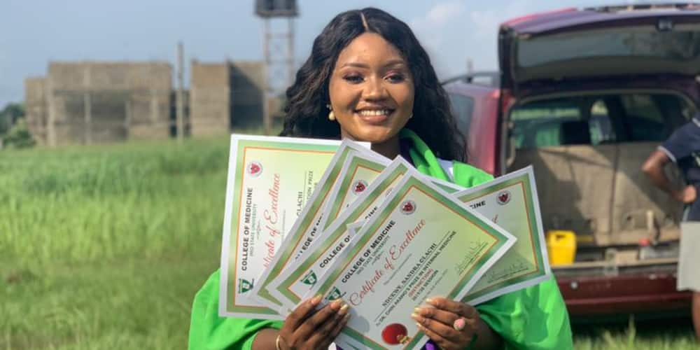 Dr Ola is a definition of beauty with brains