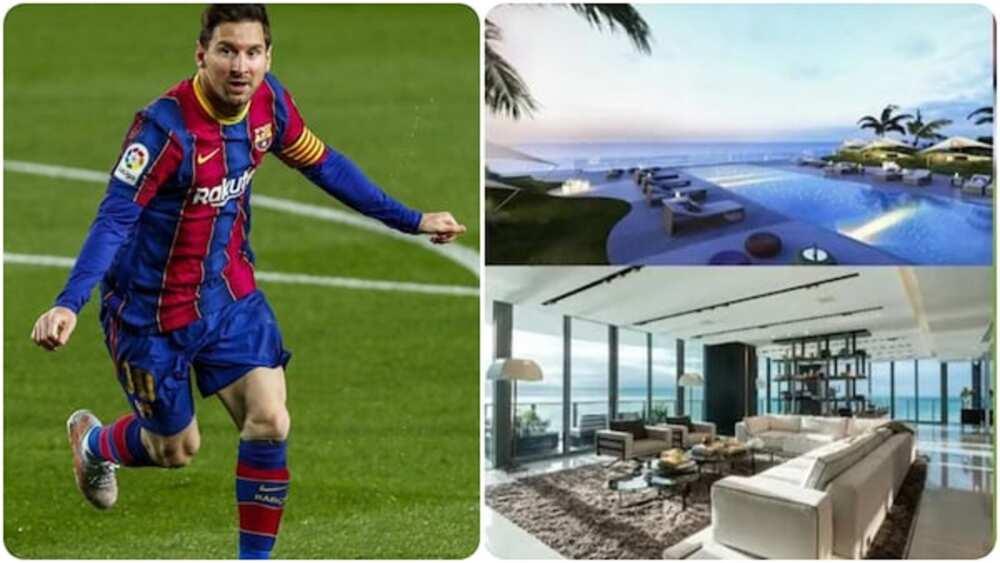 Hotunan tamfatsetsen gidan da Lionel Messi ya siya a Miami na Pam miliyan 5