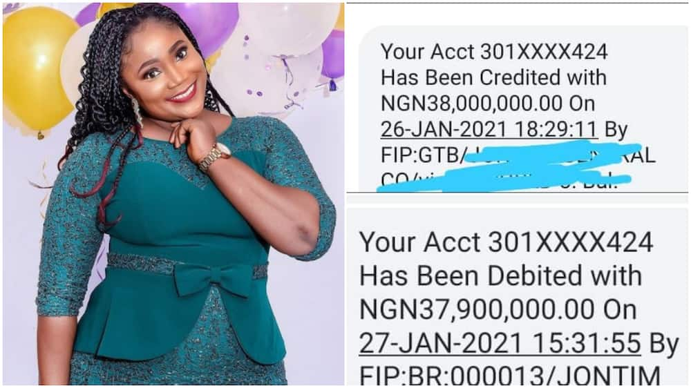 Chinese company mistakenly sent N38m into Nigerian woman's account