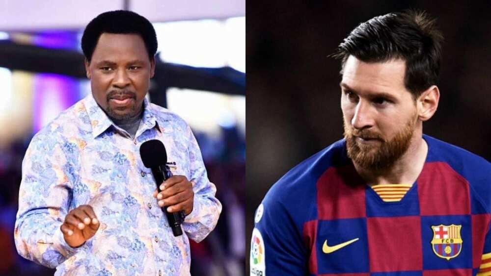 Shishigi: Fasto T.B Joshua ya shawarci Messi a kan shirin barin kungiyar Barcelona
