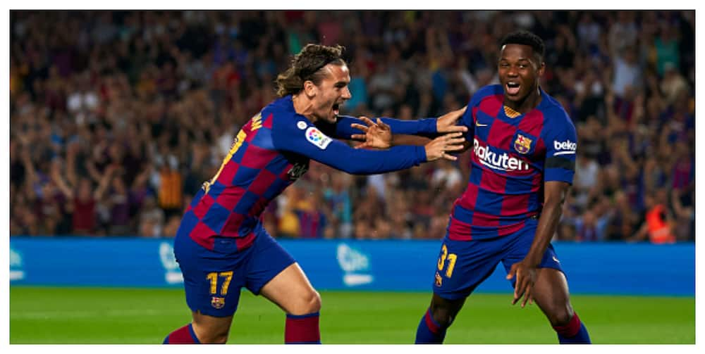 Antoine Griezmann condemns reported who racially abused Ansu Fati