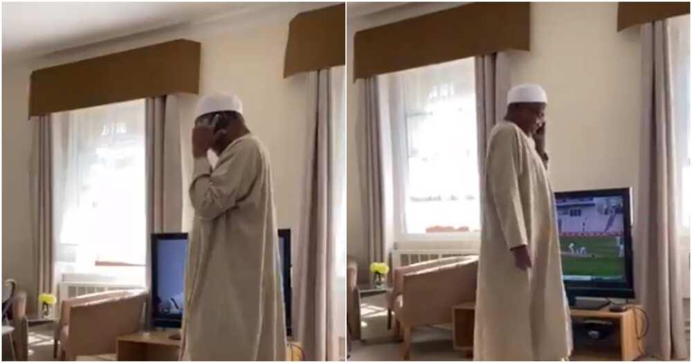 Mamman Daura na cikin koshin lafiya - 'Dansa (Bidiyo)
