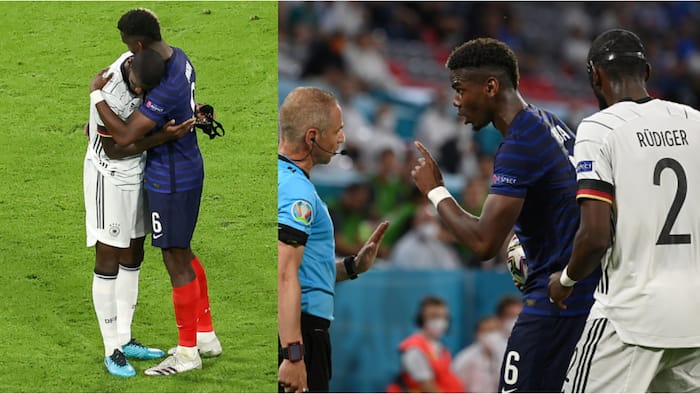 Pogba forgives Chelsea star for 'nibble' during France v Germany clash at Euro 2020