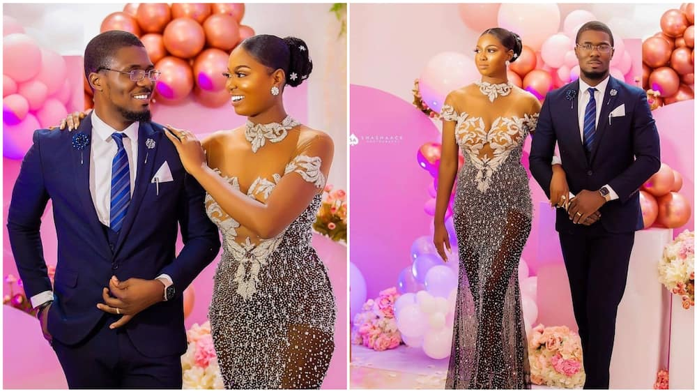 A collage showing the couple. Photo source: Linda Ikeji
