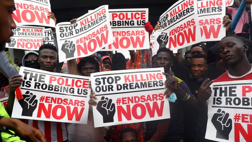 CASG calls for end to nationwide #EndSARS protests