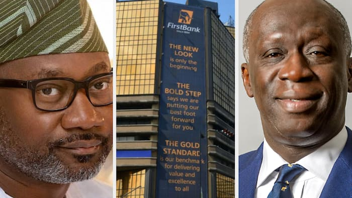 Investors lose N2.6 billion in 24 hours as First Bank discloses its largest shareholder amid takeover reports