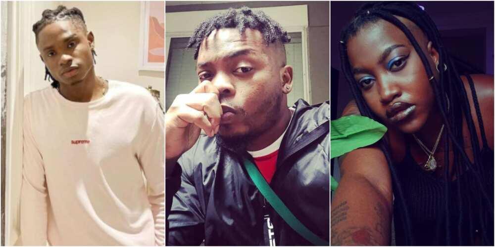 Lil Kesh, Temmie Ovwasa, YBNL signees.