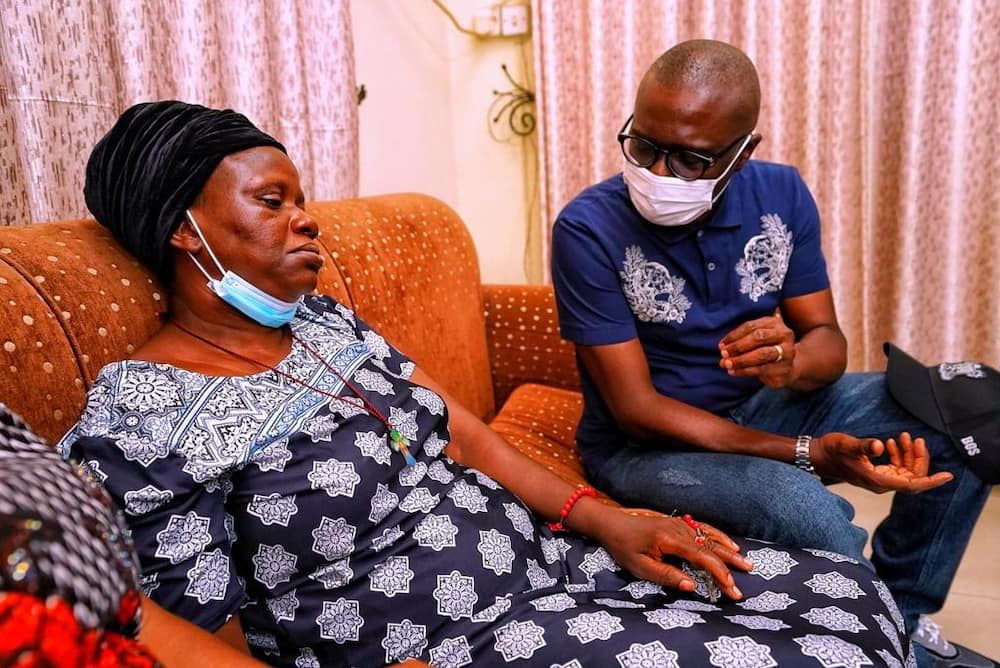 Governor Sanwo-Olu meets family of man, 55, killed during EndSARS protest