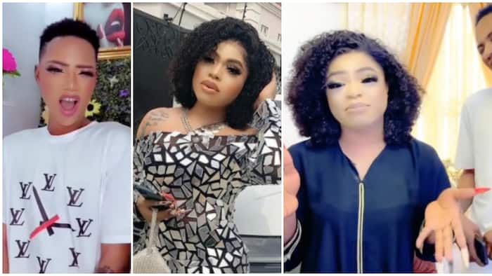 First daughter of the queen mother Bobrisky: Man who crossdresser helped embraces lifestyle