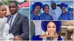 Colleagues show up for Yoruba actress Seilat Adebowale as she weds her boo (photos)