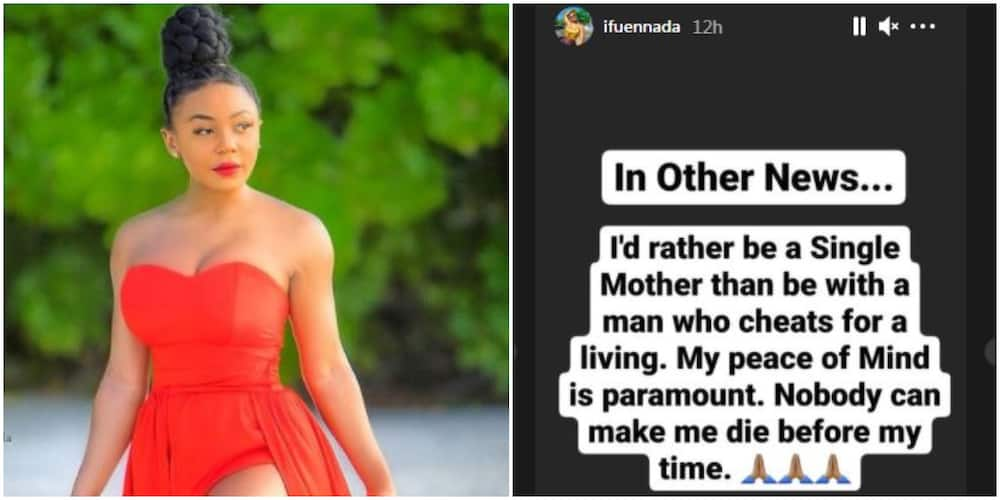 I Will Rather Be a Single Mum Than Be with a Cheating Man: BBNaija's Ifu Ennada Says