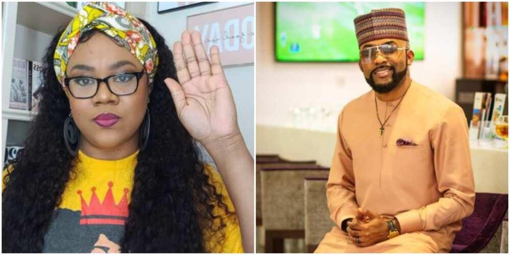 Nollywood actress Stella Damasus defends singer Banky W against detractors