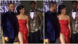 BBNaija pals Nengi, Ozo and Neo attend actor Ramsey Nouah's movie premiere together (video)
