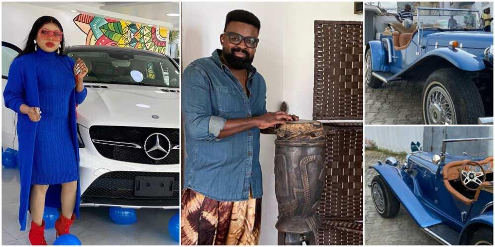 6 Nigerian celebrities with classy, luxurious automobiles