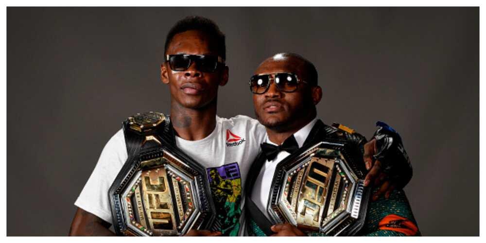 Nigerian UFC Stars Usman, Adesanya Get Nominated For MMA Awards