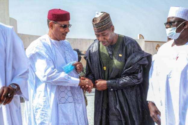 Shugaban kasar Nijar ya yaba da aikin gwamnan Borno Zulum, ya bashi lambar yabo