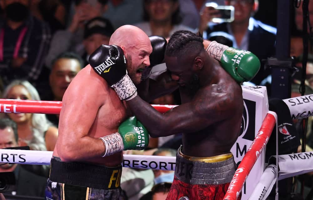 Tyson Fury 'attacks' Deontay Wilder hours after knocking him our during trilogy fight