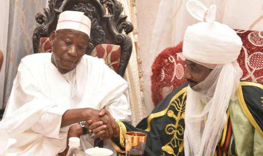 Emirate: Ganduje renews feud with Sanusi, orders probe of Kano emirate land