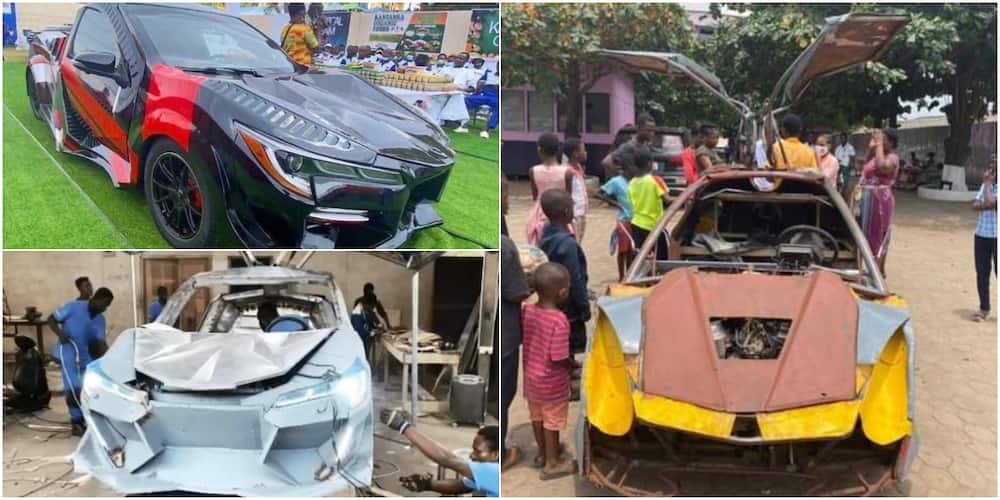 Kelvin Odartey: Vehicle company remanufactures car designed by 18-year-old boy
