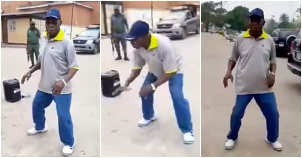 83-year former president, Obasanjo keeps fit as he dances in workout video