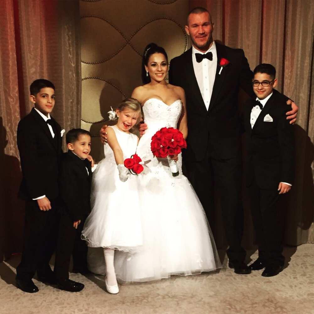 Randy Orton wife
