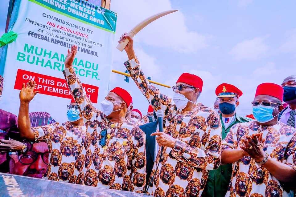 Buhari: Igbo ne ke riƙe da tattalin arzikin Nigeria, sun fi iya kasuwanci