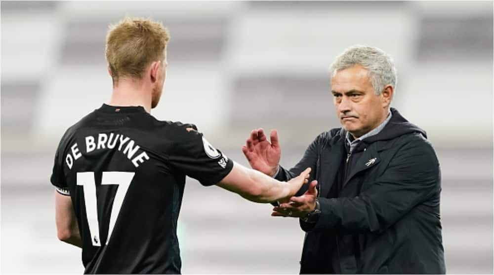 Former Chelsea manager Jose Mourinho explains why Blues sold De Bruyne to Wolfsburg before Man City transfe