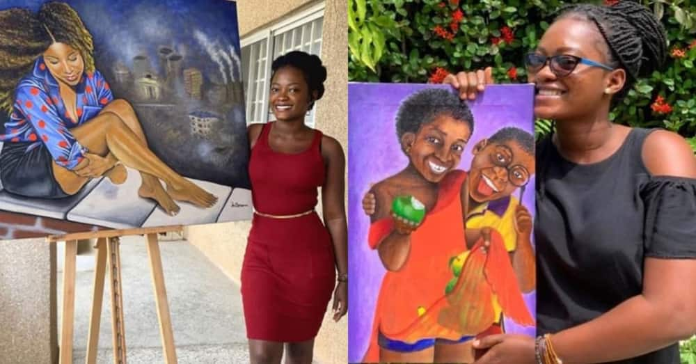 Meet accounting graduate who snubbed her cert to follow her passion as commercial artiste