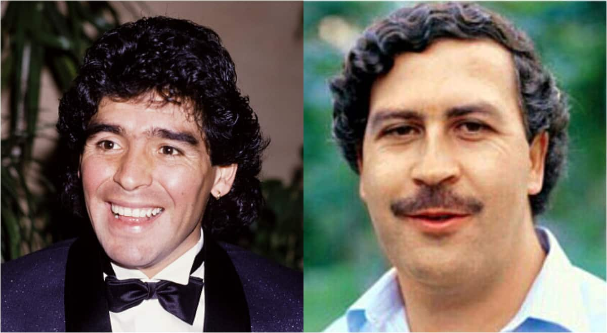 Maradona was paid heavily to attend prison party with Pablo Escobar